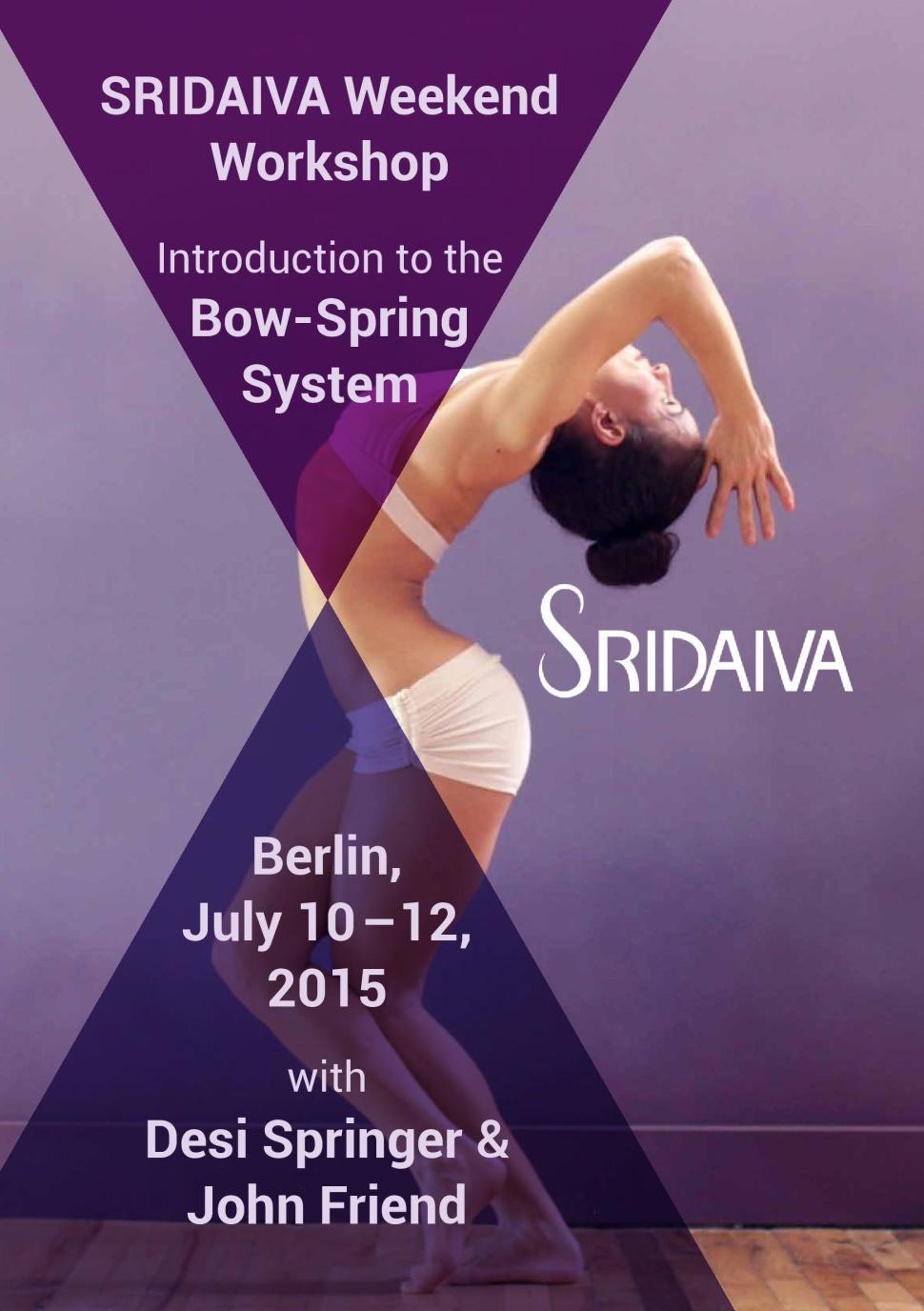 Sridaiva Berlin 2015 Flyer
